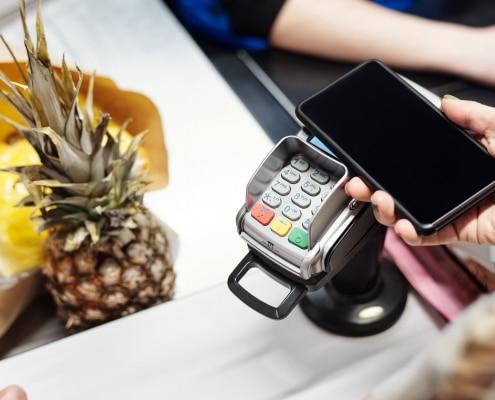 kontaktloses Bezahlen mit locandis